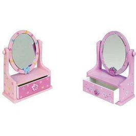 Šperkovnice - Zrcadlo se zásuvkami