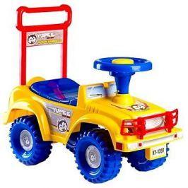 Odrážedlo auto Jeep Yupee žluté