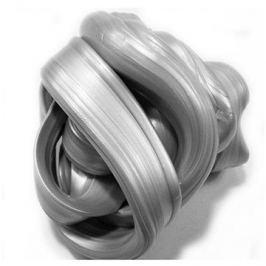 Inteligentní plastelína - Zářivá stříbrná (metalická)