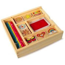 Dřevěné výtvarné hračky - Dřevěná dětská razítka