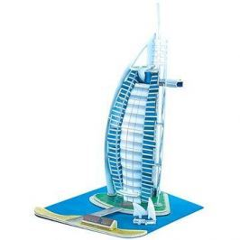 Třívrstvé pěnové 3D puzzle - Burj Al Arab