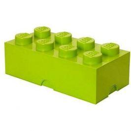 LEGO Úložný box 8 250 x 500 x 180 mm - limetkově zelený
