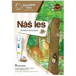 Kouzelné čtení - Puzzle Náš les