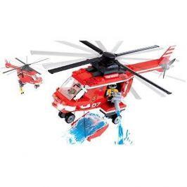 Cobi 1473 Action Town - Hasičská helikoptéra