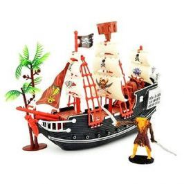 Pirátská loď s doplňky