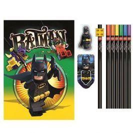 LEGO Batman Movie Papírnický set se zápisníkem