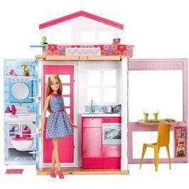 Barbie Dům 2V1 a panenka