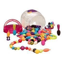 B-Toys Spojovací korále a tvary Pop Arty 150 ks