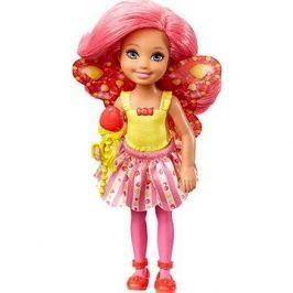 Barbie víla Chelsea tmavě růžová
