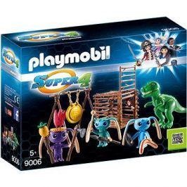 Playmobil 9006 Bojovníci Alien s pastí na T-Rexe