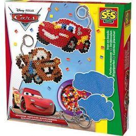 SES Zažehlovací korálky Disney Cars, přívěsky na klíče