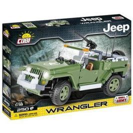Cobi 24260 JEEP Wrangler vojenský