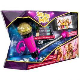 Selfie mikrofon růžový