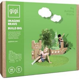 Gigi bloks velké kartonové kostky XL 30 ks