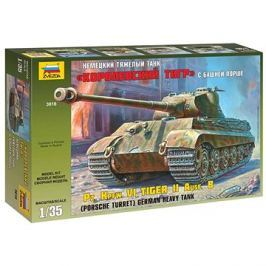 Zvezda Model Kit Z3616 tank – Kingtiger Porsche