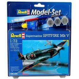 Revell Model Set 64164 letadlo – Spitfire Mk.V