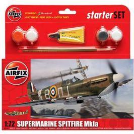 Airfix Starter Set A55100 letadlo – Supermarine Spitfire Mk1a