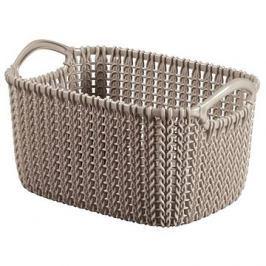 Curver Knit košík 3L hnědý