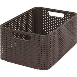 Curver Style box M tmavě hnědý
