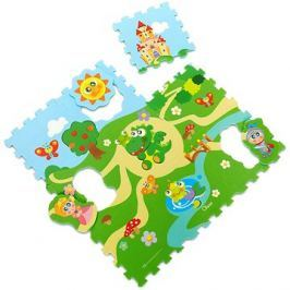 Chicco Puzzle pěnové Hrad 30 × 30 cm 9ks