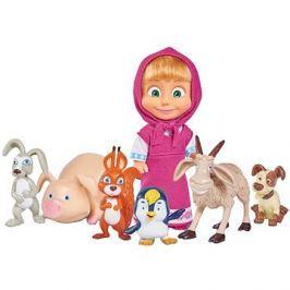 Simba Máša a medvěd Máša a její zvířecí kamarádi