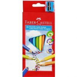 Faber-Castell Pastelky Jumbo, 10 Barev