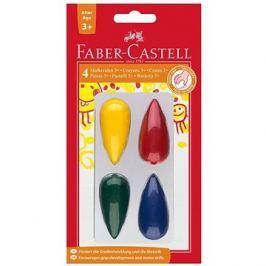 Faber-Castell Plastové Pastelky do dlaně, 4 Barvy