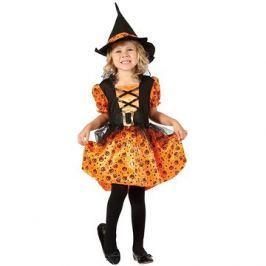 Šaty na karneval - Čarodějka vel. XS