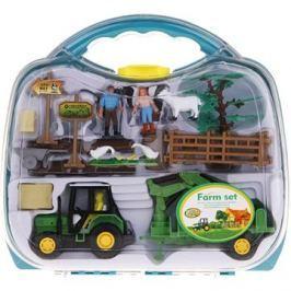 Farmářský set v kufříku Traktor s nakládacím ramenem