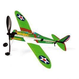 Scratch Vrtulové stíhací letadlo na gumu