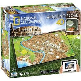 4D Puzzle National Geographic Řím