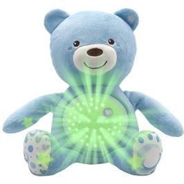 Chicco Hračka medvídek s projektorem - modrá