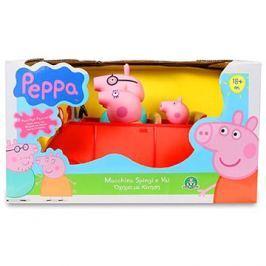 Prasátko Peppa - rodinné auto s figurkami