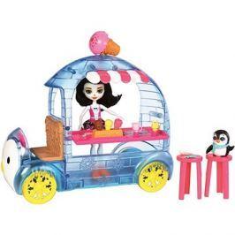 Enchantimals Vozík s tučňákem