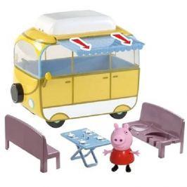 Prasátko Peppa - kempingový vůz Peppy + figurka