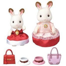 Sylvanian Families Město - chocolate králičí maminka s dcerou