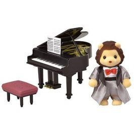 Sylvanian Families Město - klavírista lev
