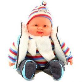Miminko chlapeček - modrá vesta