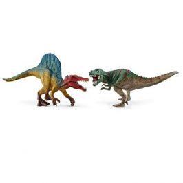 Schleich 41455 Sada Spinosaurus a T-rex malý