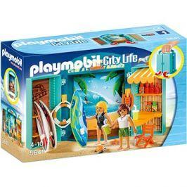 Playmobil 5641 Box na hraní Obchod s potřebami na surfování