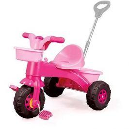 DOLU Moje první tříkolka s rukojetí, růžová