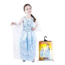 Princezna zimní modrá vel. M