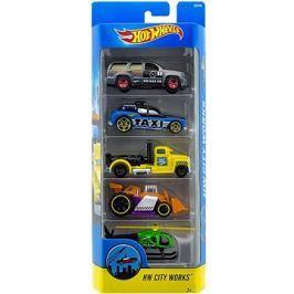 Hot Wheels Angličáky 5 ks - City