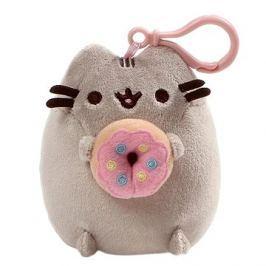 Pusheen clip donut