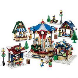LEGO Creator 10235 Zasněžený vesnický trh