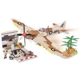 Cobi 5546 II WW Supermarine Spitfire Hangár