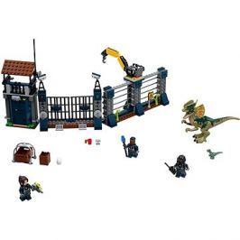 LEGO Jurský Svět 75931 Útok Dilophosaura na hlídku