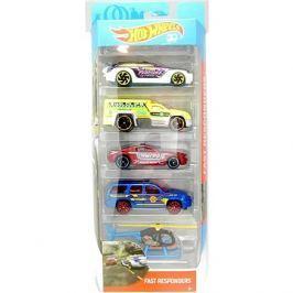 Hot Wheels Angličáky 5 ks Fast Responders