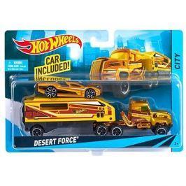 Hot Wheels Náklaďák Desert Force