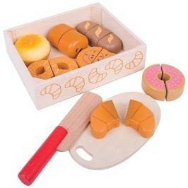 Bigjigs Toys Krájení pečiva v krabičce